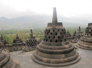 From the top of Borobudur Temple ©