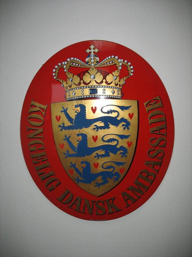 Ambassade skilt © kellberg.net